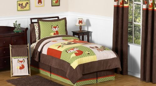 Forest Friends Twin Bedding Collection